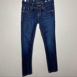 MissMe Skinny Jeans JP46565 Size 26